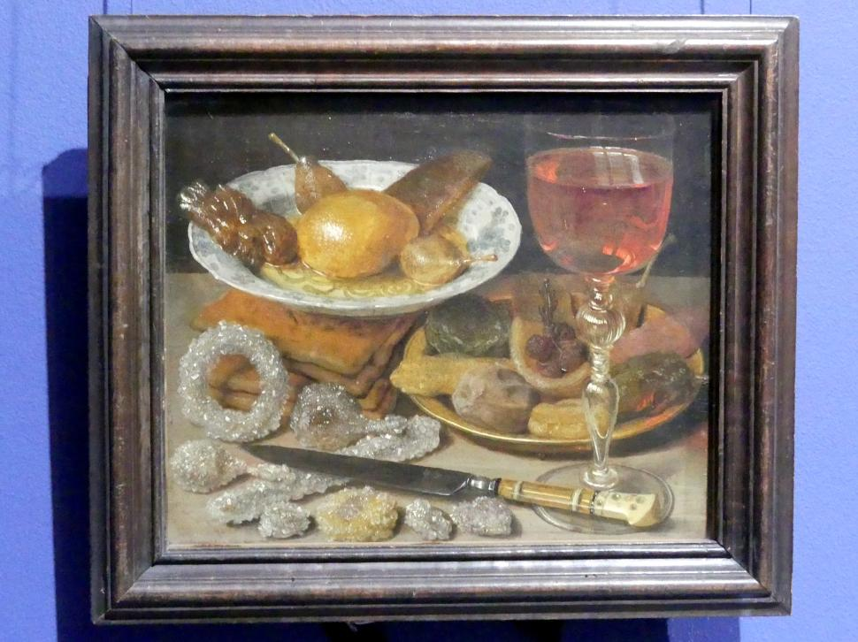 Georg Flegel: Stillleben mit Obst und Zuckerwerk, um 1635 - 1637