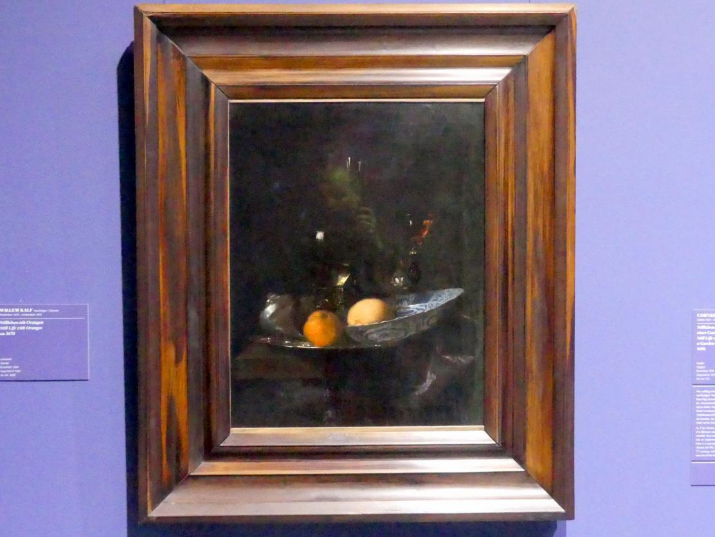 Willem Kalf: Stillleben mit Orangen, um 1670