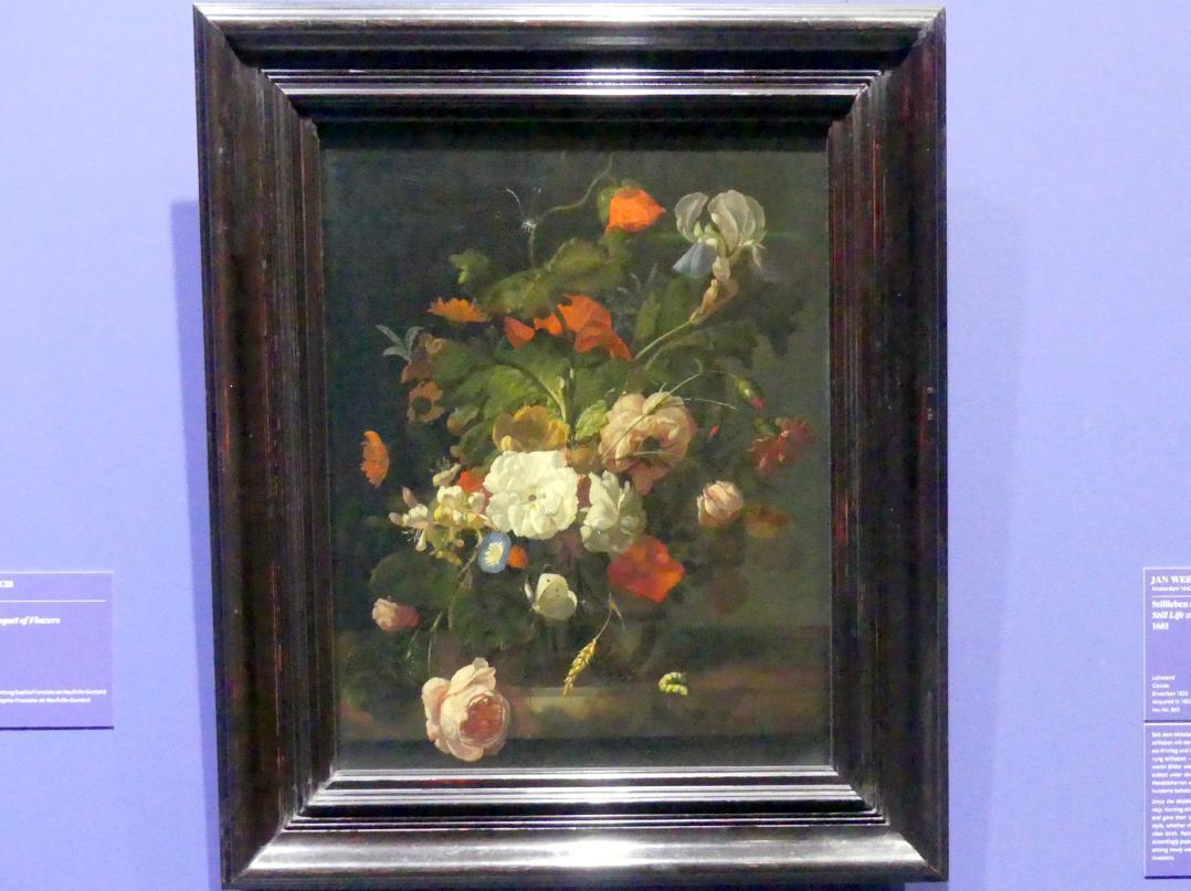 Rachel Ruysch: Blumenstillleben, 1698