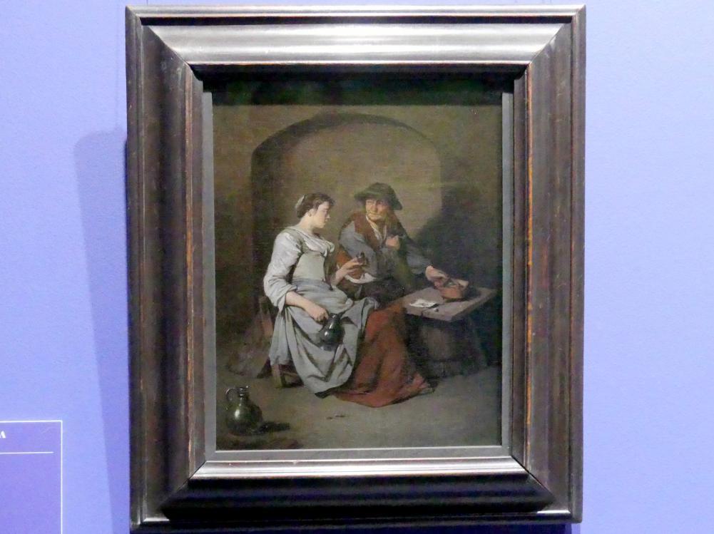 Cornelis Pietersz. Bega: Wirtshausszene, 1660 - 1662