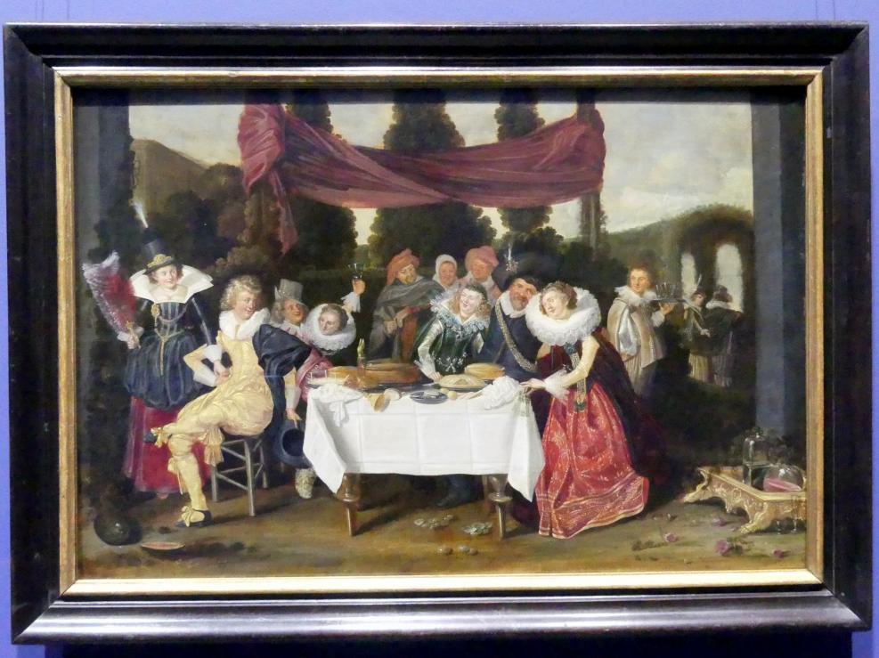 Dirck Hals: Fröhliche Gesellschaft, Um 1620
