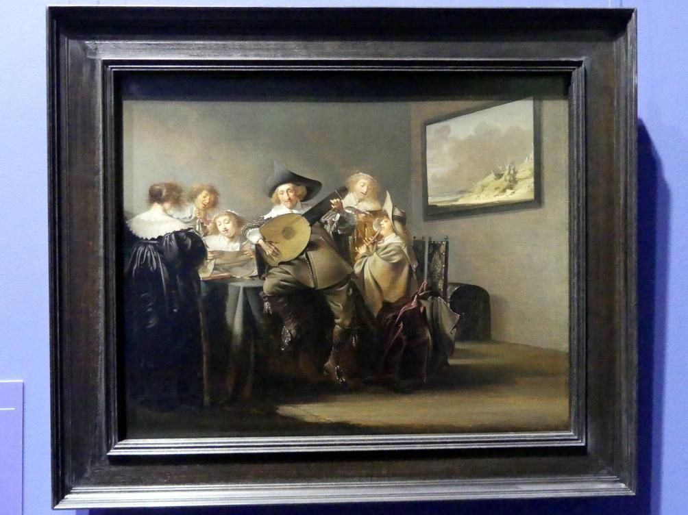 Pieter Codde: Musizierende Gesellschaft, um 1633