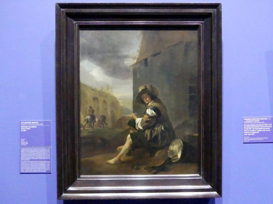Jan Baptist Weenix: Römischer Kesselflicker, um 1656