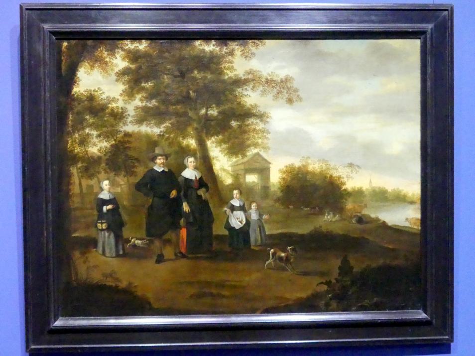 Jacob Muller: Die Familie des Predigers Reinier Halma in Langerak an der Lek, 1652