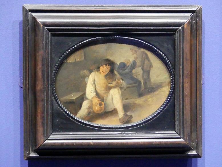 Adriaen Brouwer: Ein betrunkener Bauer, um 1633 - 1634