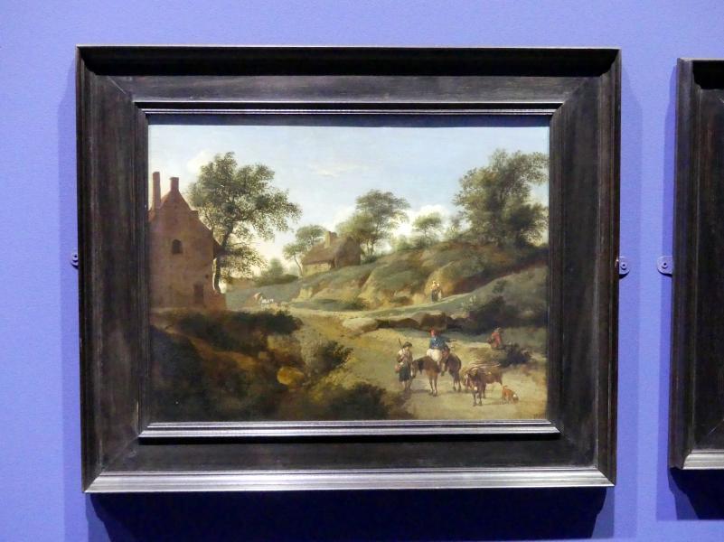 Jan van der Heyden: An einer Landstraße, um 1666 - 1668