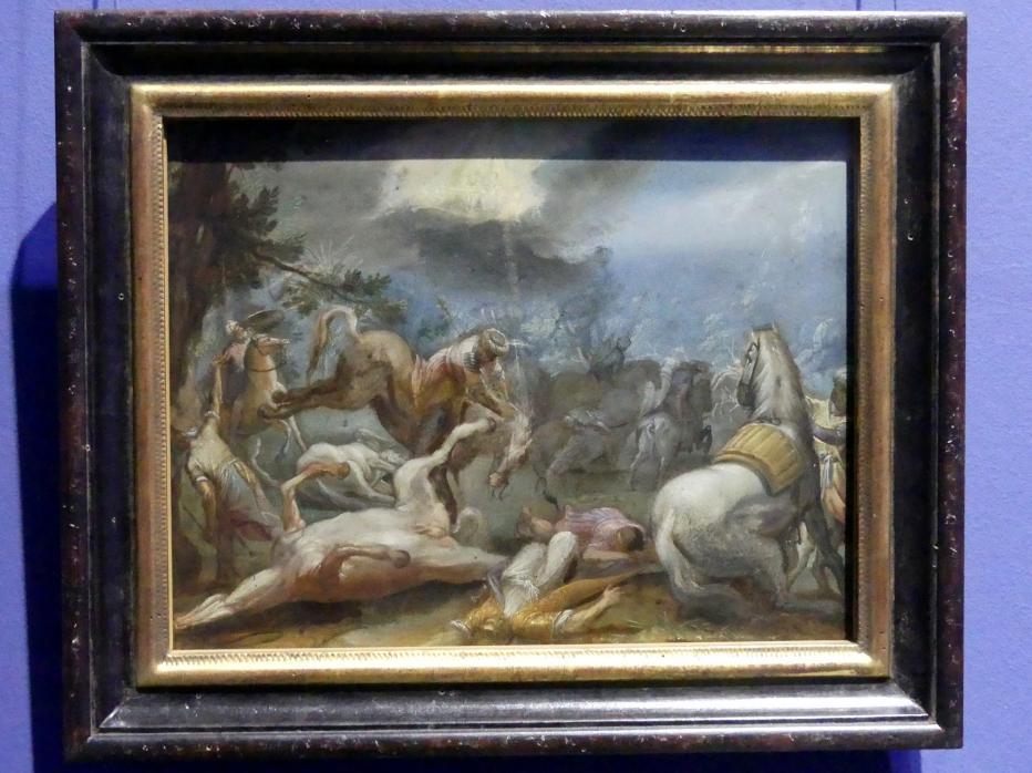 Adam Elsheimer: Bekehrung Pauli, um 1598