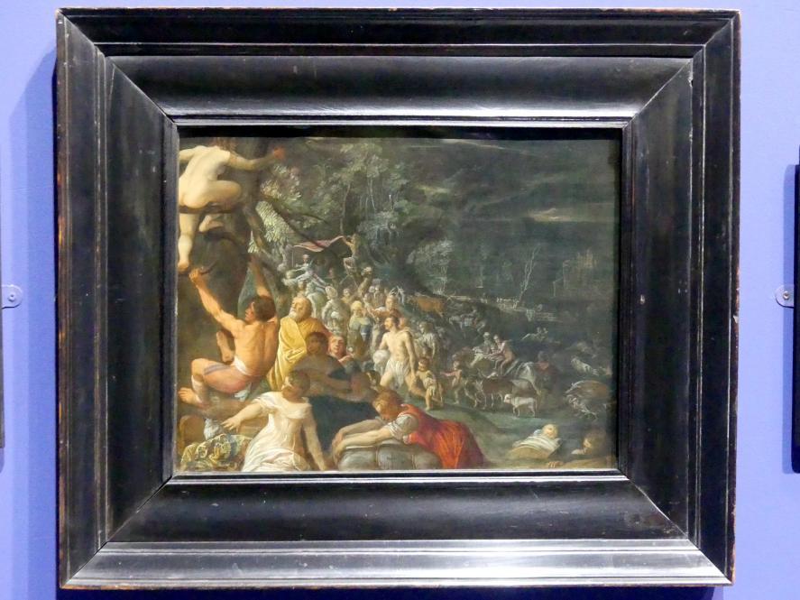Adam Elsheimer: Die Sintflut, um 1599 - 1600
