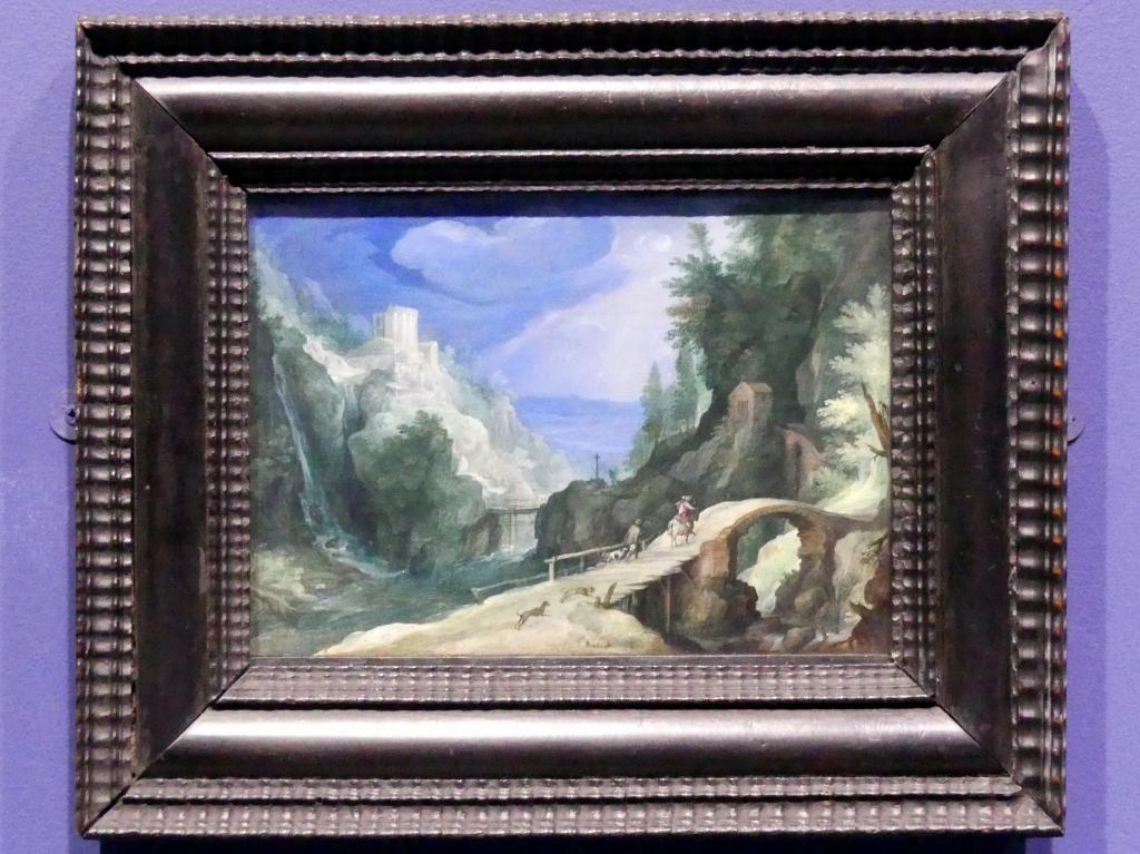 Paul Bril (Umkreis): Landschaft bei Tivoli, um 1595 - 1600