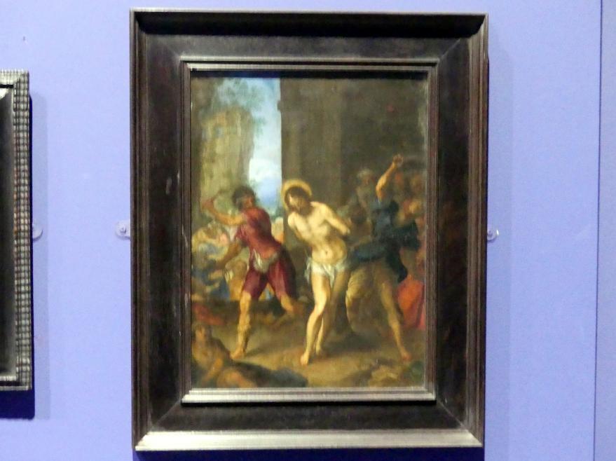 Johannes Rottenhammer der Ältere: Die Geißelung Christi, um 1596 - 1598