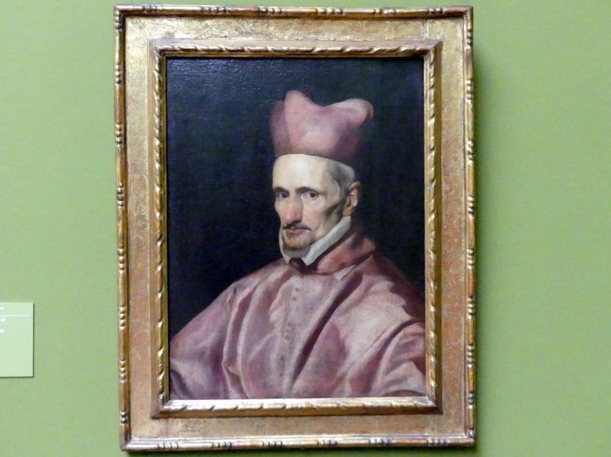 Diego Velázquez (Werkstatt): Bildnis des Kardinals Gaspar de Borja y Velasco, um 1643 - 1645