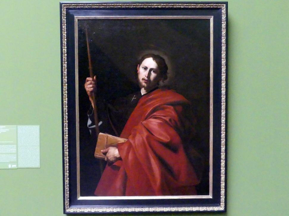 Jusepe de Ribera: Der Heilige Jakobus der Ältere, um 1615 - 1616, Bild 1/2