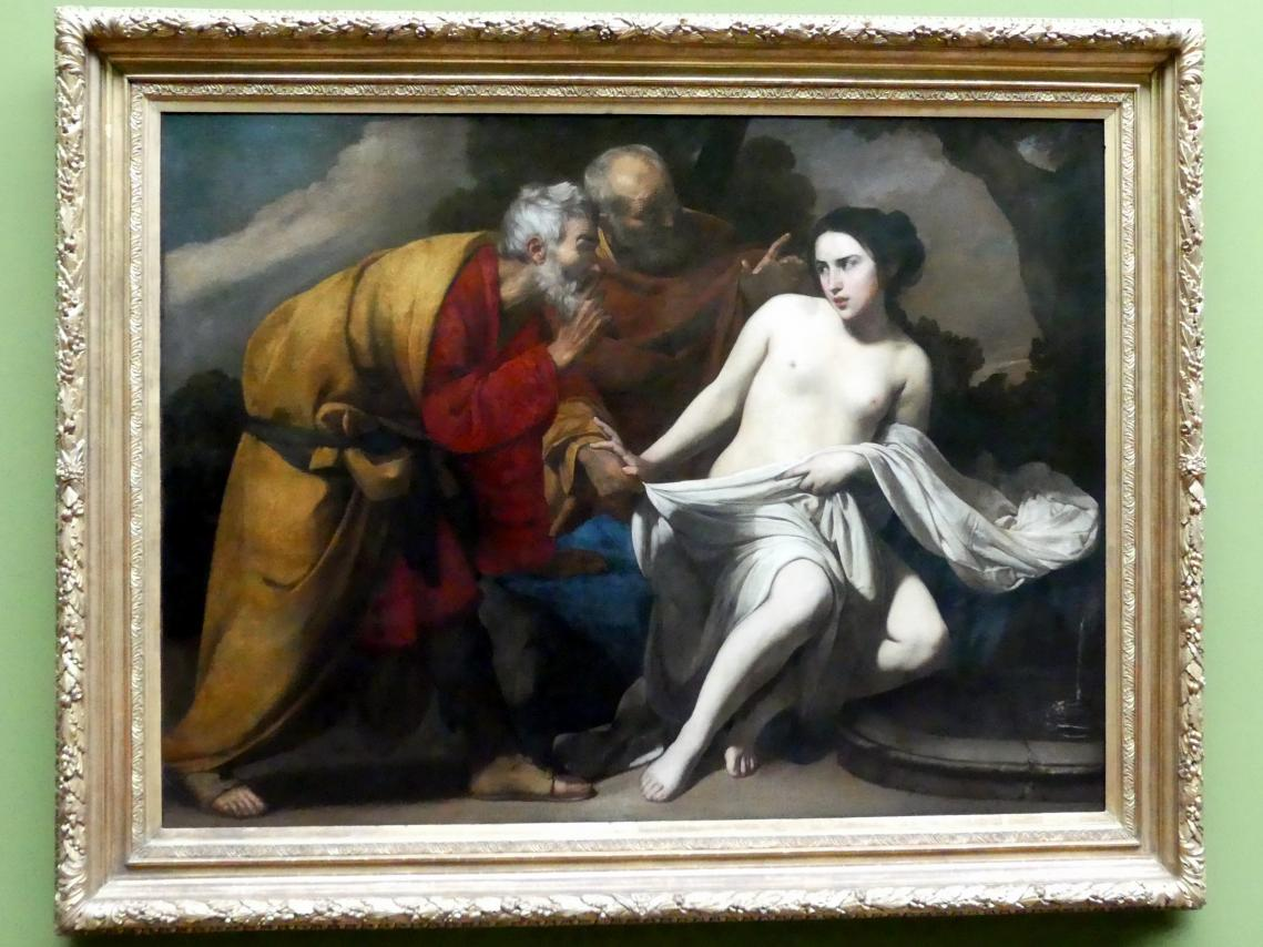Massimo Stanzione: Susanna und die beiden Alten, Um 1630 - 1635