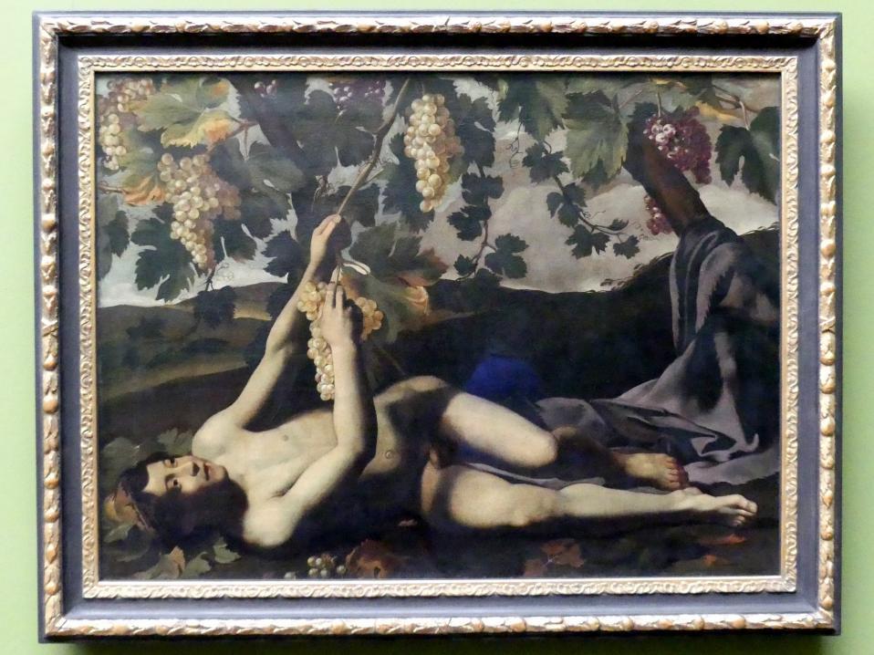 Michelangelo Merisi da Caravaggio (Nachfolger): Der jugendliche Bacchus, Um 1610
