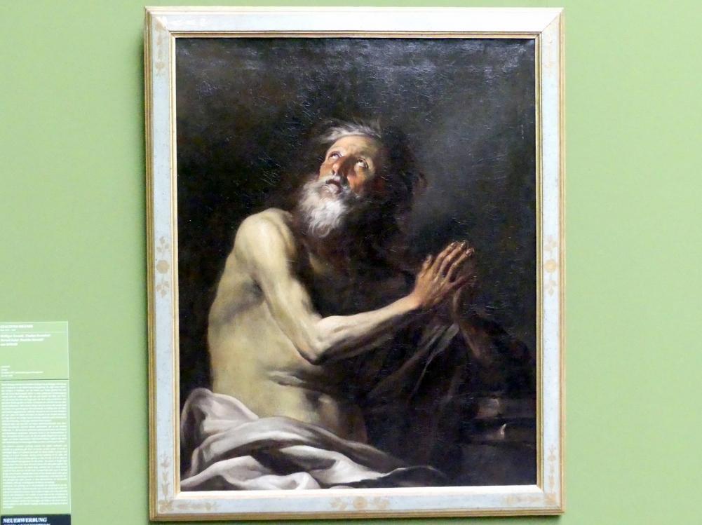 Giacinto Brandi: Heiliger Eremit (Paulus Eremita ?), um 1670 - 1680