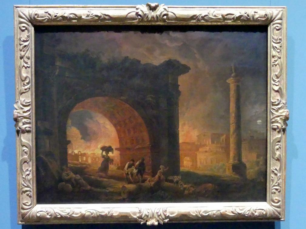 Hubert Robert: Römische Ruinen, 1773