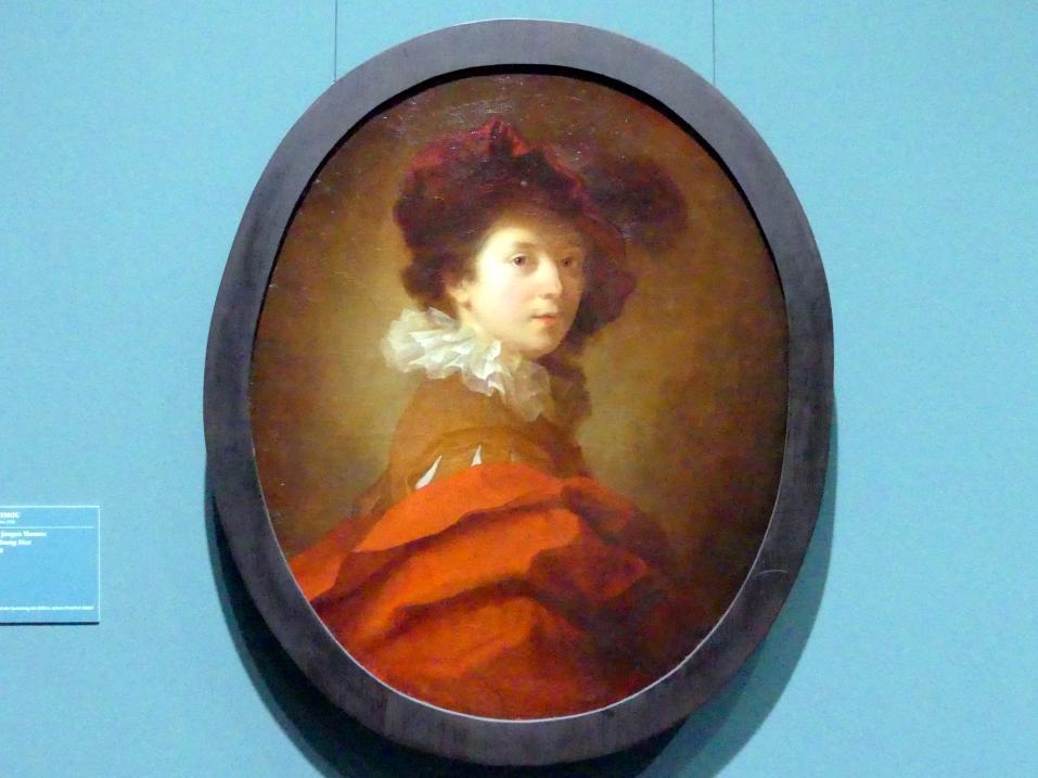 Alexis Grimou: Bildnis eines jungen Mannes, um 1720 - 1730