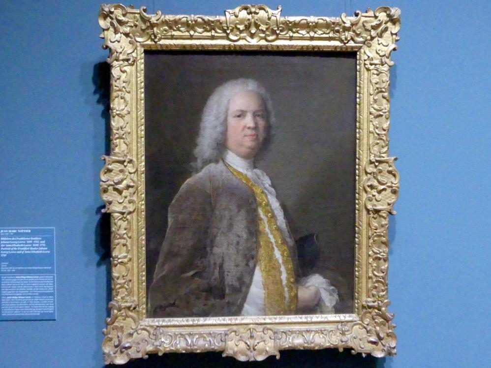 Jean-Marc Nattier: Bildnis des Frankfurter Bankiers Johann Georg Leerse (1691-1762), 1749