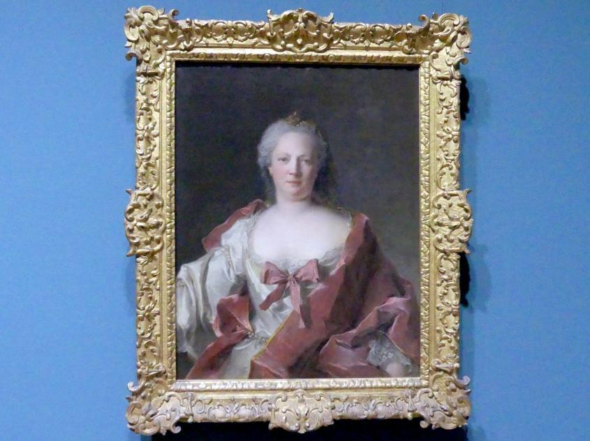 Jean-Marc Nattier: Bildnis der Anna Elisabeth Leerse (1698-1776), 1749