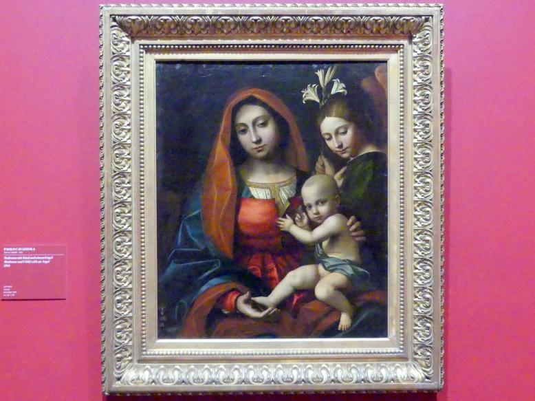 Paolo Morando (Cavazzola): Madonna mit dem Kind und einem Engel, 1504