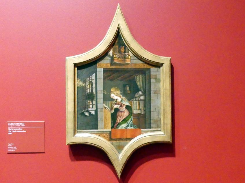 Carlo Crivelli: Maria Annunziata, 1482