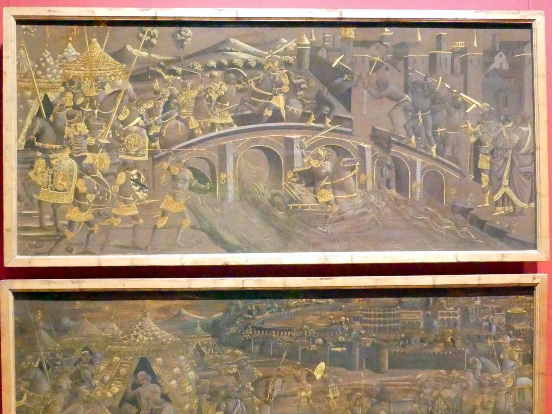 Horatius Cocles verteidigt die Sublicische Brücke gegen Porsenna, Um 1480