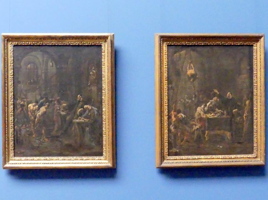 Alessandro Magnasco: Peinliches Verhöhr / Folterszene, Um 1727 - 1730