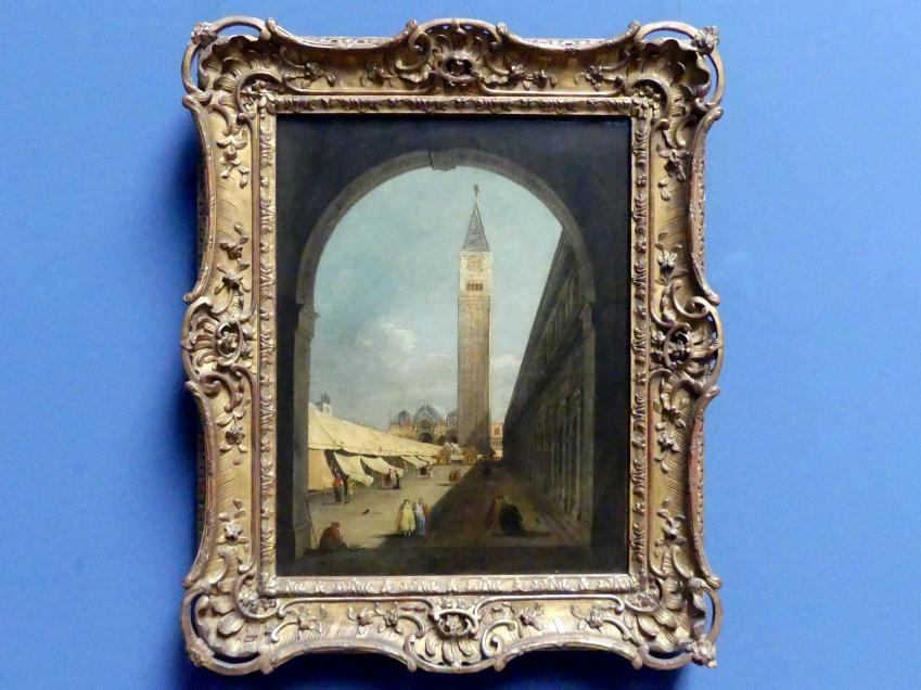 Giacomo Guardi: Der Markusplatz in Venedig, Um 1780 - 1810