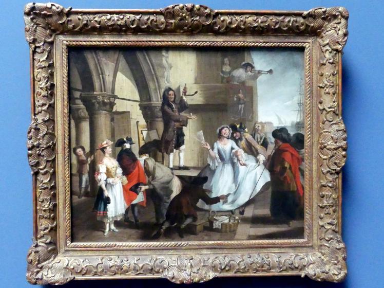 Pietro Longhi (Nachfolger): Gaukler vor dem Dogenpalast, um 1750 - 1760