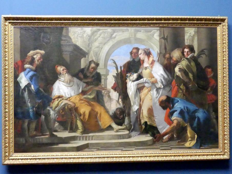 Giovanni Battista Tiepolo: Die Heiligen der Familie Crotta, Um 1750