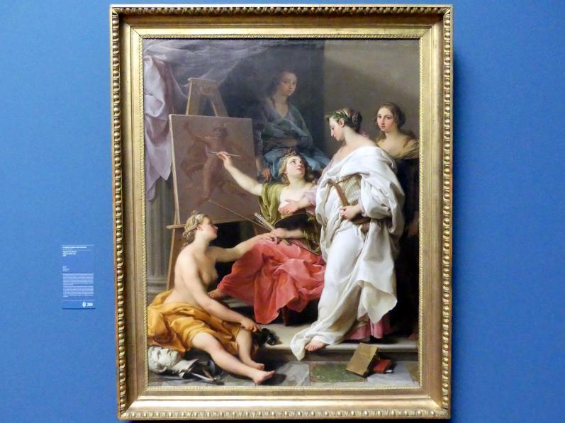 Pompeo Girolamo Batoni: Allegorie der Künste, 1740