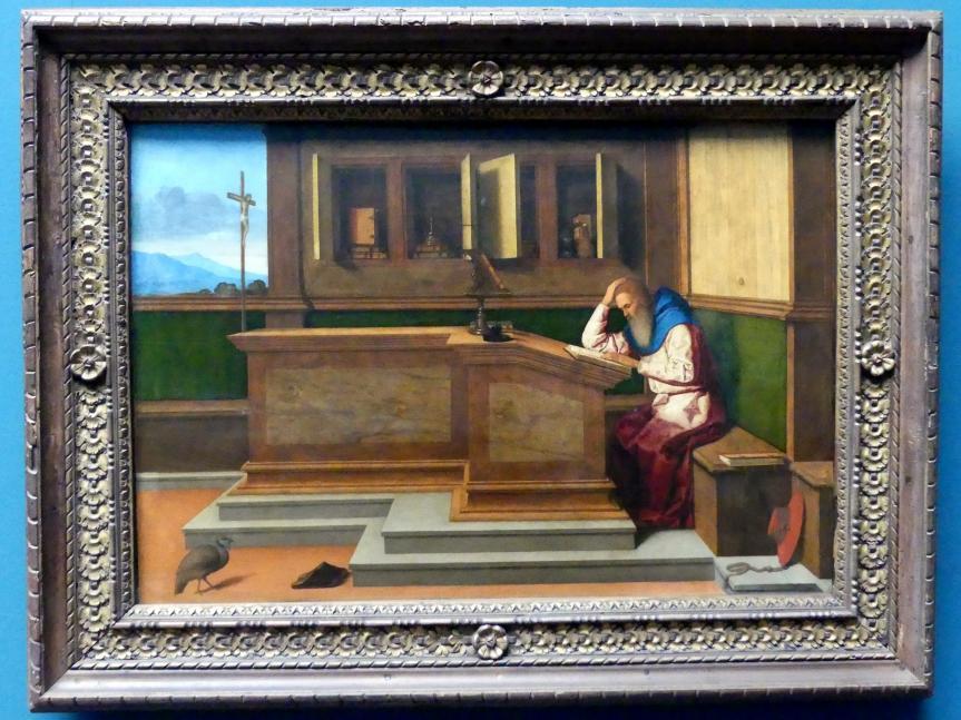 Vincenzo Catena: Der heilige Hieronymus im Studierzimmer, um 1513 - 1515