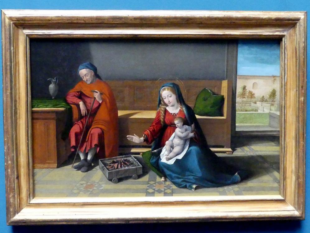 Benvenuto Tisi Garofalo: Die Heilige Familie, um 1515 - 1520