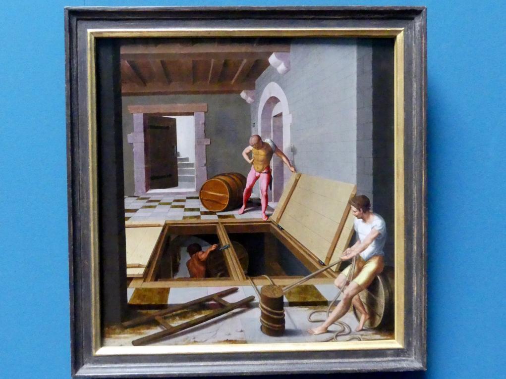 Pseudo-Félix Chrétien: Kellerszene, 1537