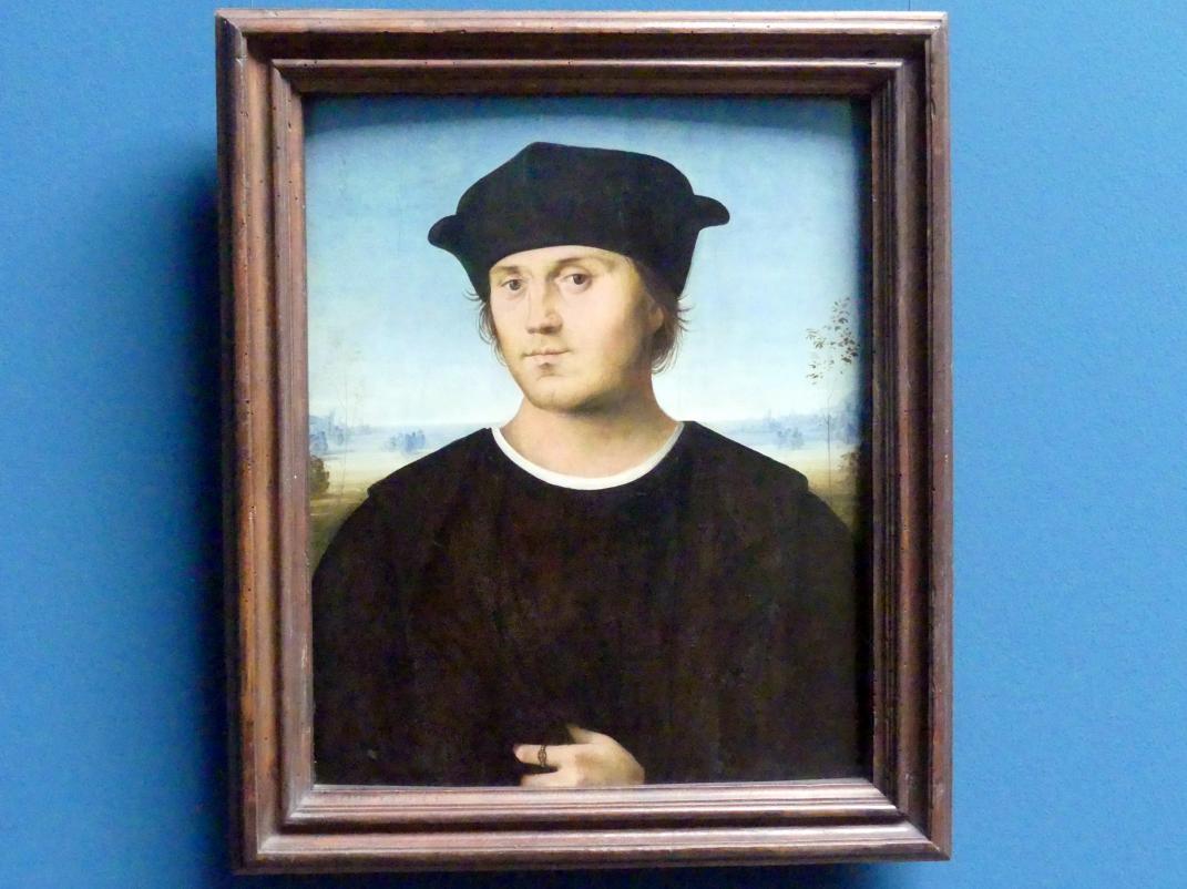 Amico Aspertini: Bildnis eines Mannes, um 1505 - 1506