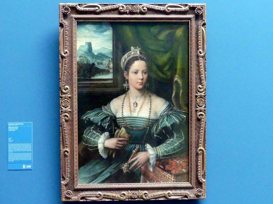 Pieter de Kempeneer: Bildnis einer Dame, um 1527 - 1537