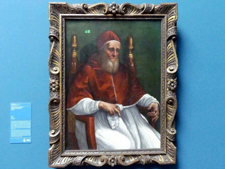 Raffaello Santi (Raffael): Bildnis des Papstes Julius II., um 1511 - 1512