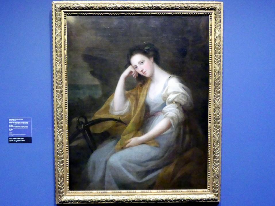 Angelika Kauffmann: Bildnis der Lady Louisa Leveson-Gower (1749/50-1827), später Baroness Macdonald als Spes, 1767
