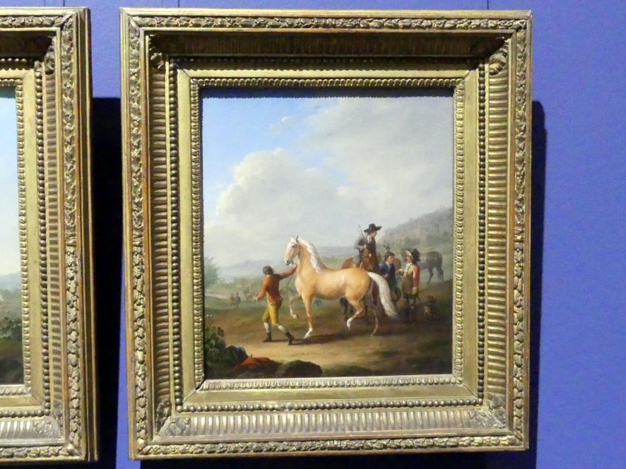 Johann Georg Pforr: Pferdemarkt, 1786