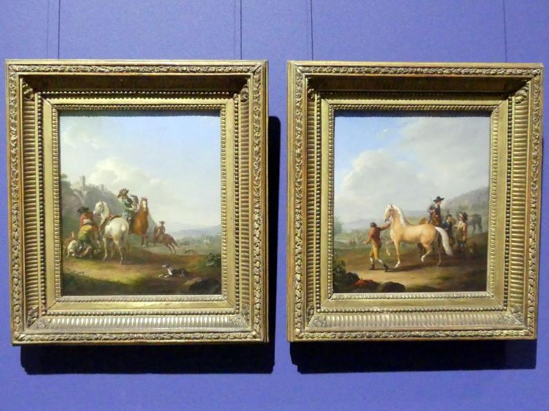 Johann Georg Pforr: Pferdemarkt, 1786, Bild 2/3