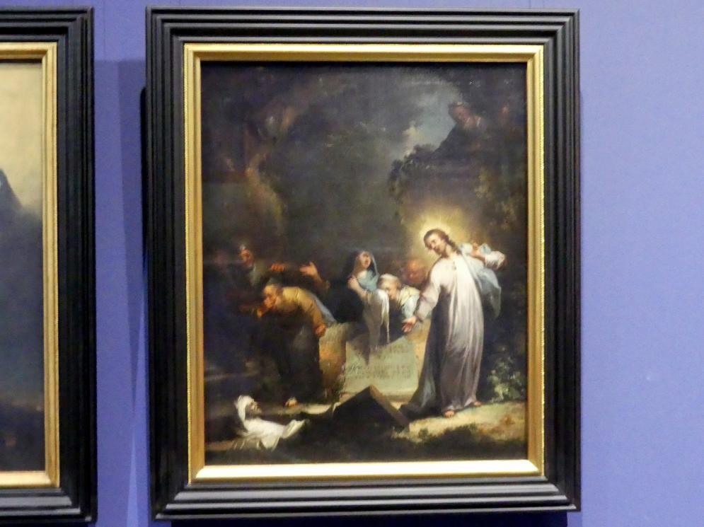 Johann Georg Trautmann: Die Auferweckung des Lazarus, um 1750 - 1765