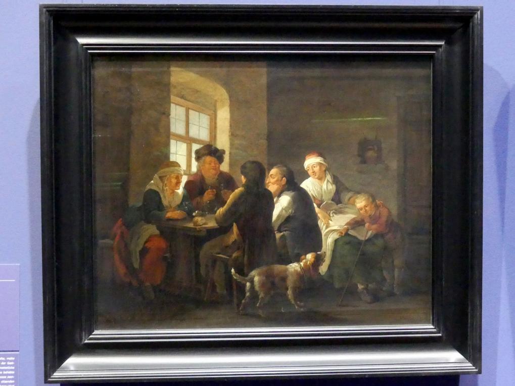 Georg Melchior Kraus: Familie bei der Mahlzeit, 1770 - 1774