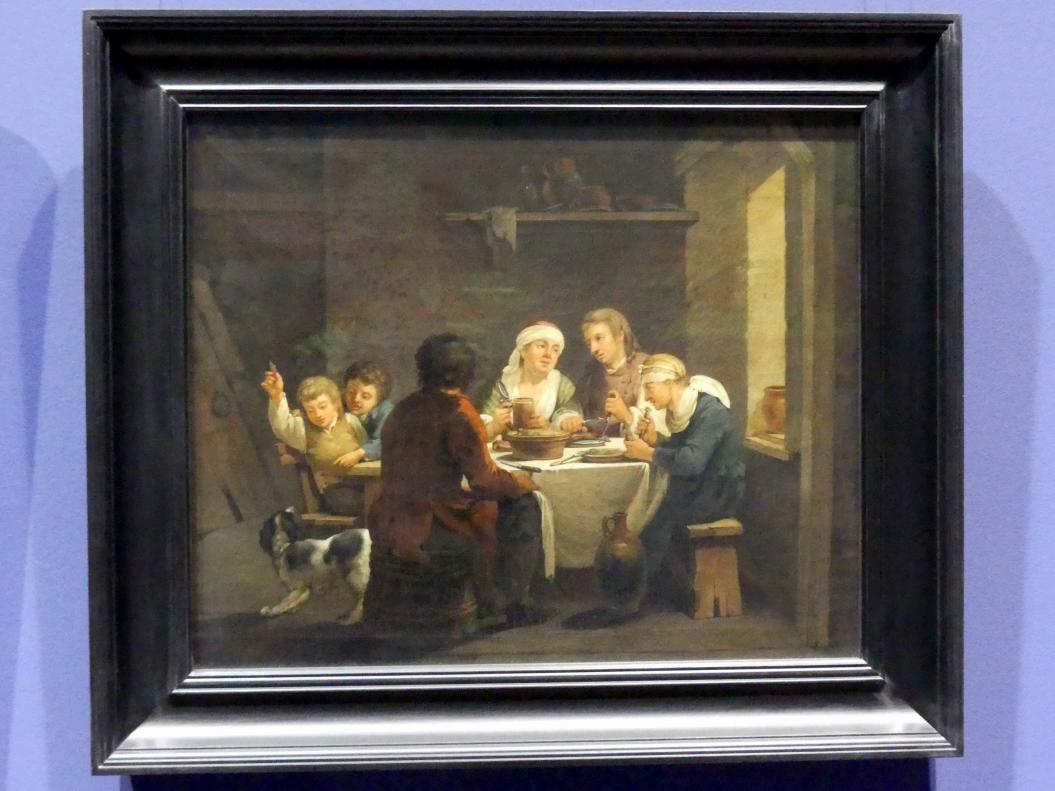 Georg Melchior Kraus: Familie in einem Dorfwirtshaus, 1770 - 1774