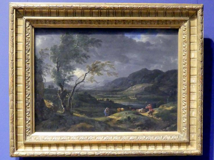 Johann Franz Ermels (Johann Franciscus Ermels): Landschaft bei abziehendem Gewitter, um 1660 - 1670