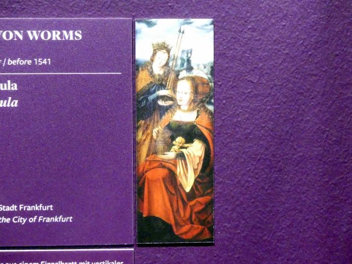 Anton Woensam (Nachfolger): Hll. Magdalena und Ursula, Um 1545 - 1550