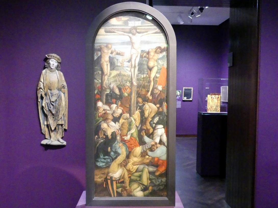 Hans Schäufelein (Umkreis): Kreuzigung Christi, Um 1510 - 1520