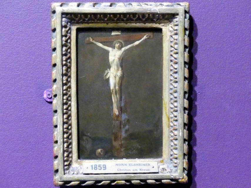 Adam Elsheimer (Nachfolger): Christus am Kreuz, 1603