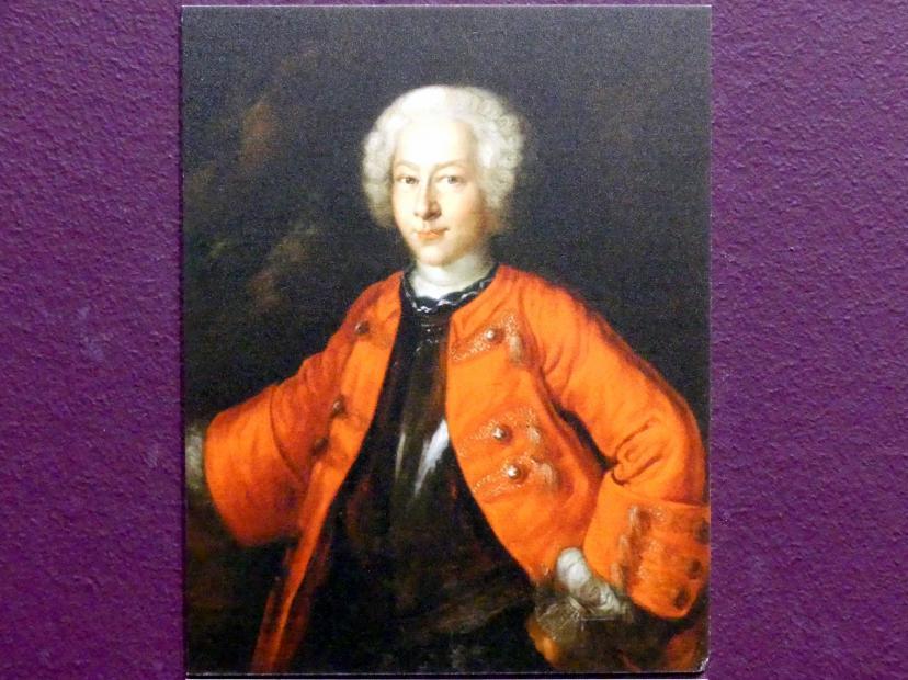 Bildnis des Hieronymus Georg von Holzhausen (1726-1755), Um 1735 - 1745