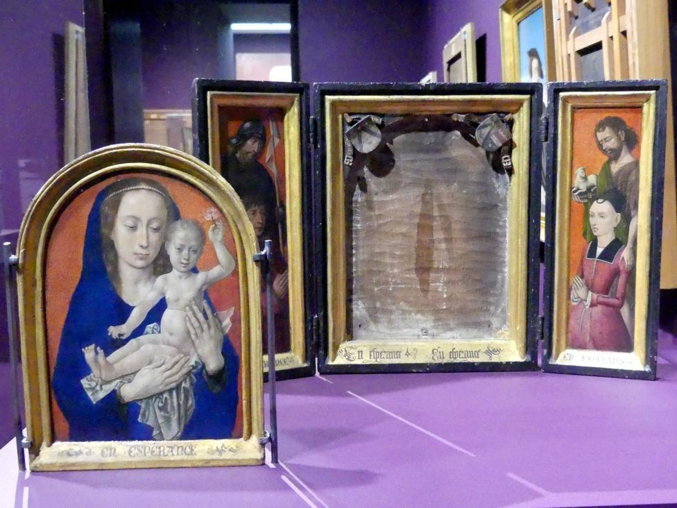 Hugo van der Goes: Marientriptychon, Um 1475 - 1490