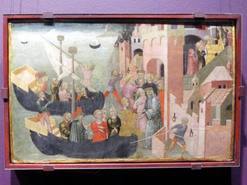 Ankunft der Helena in Troja, Um 1430